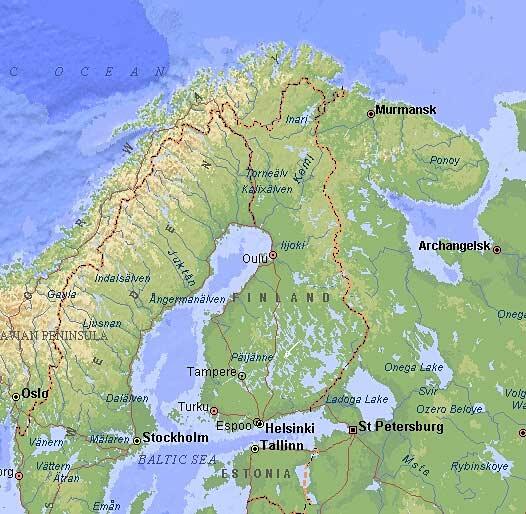 cottages in Finland zomerhuizen vakantiehuizen in Finland